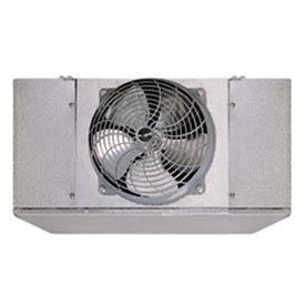 Turbo air led068be 2 fan electric defrost unit cooler with for Walk in cooler fan motor