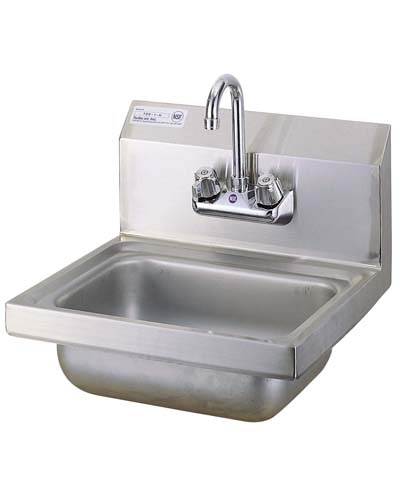 Stainless Wall Mount Sink : ... sinks faucets turbo air tss 1 h wall mount stainless steel hand sink