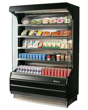 Turbo Air Tom 40b Refrigerated Open Display Case 39 X 28
